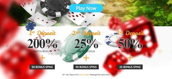 Welcome Bonus: 6500 EUR and 120 free spins up for grabs!