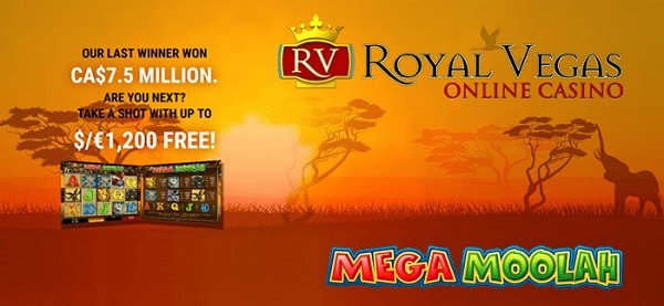 Royal Vegas Casino Wheel of Spins Promotion