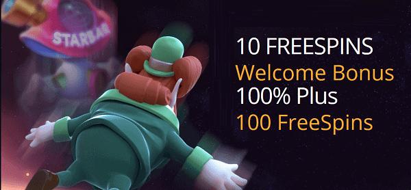 10 gratis spins bonus