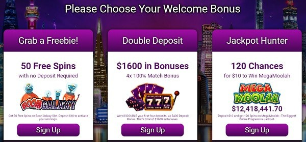 Exlcusive Jackpot Slots