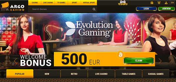 Live Dealer Games and HD Slots