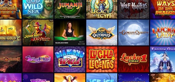 Wild Jackpots Casino games and software providers