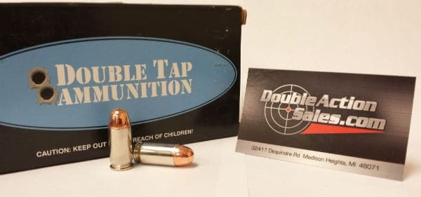 DoubleTap Ammunition 45 ACP 230gr. FMJ Match (TA945230)