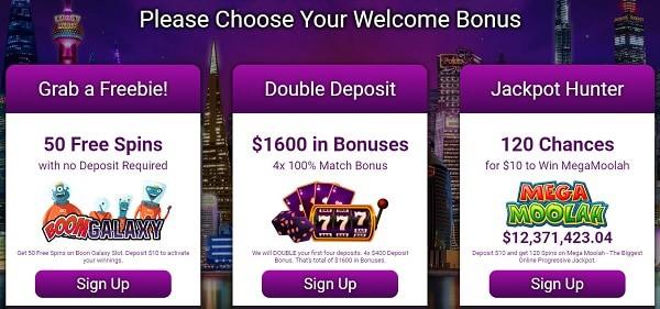 Get welcome bonus (exclusive offers)