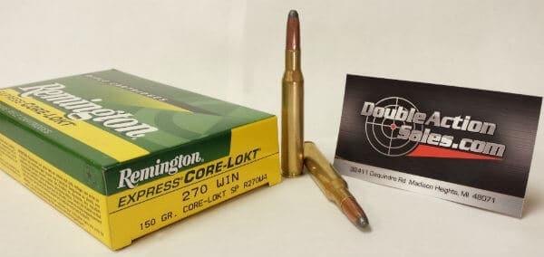 Remington 270 WIN 150gr Core-Lokt SP (27810)