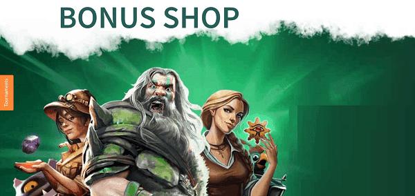 Bonus Shop Free Spins