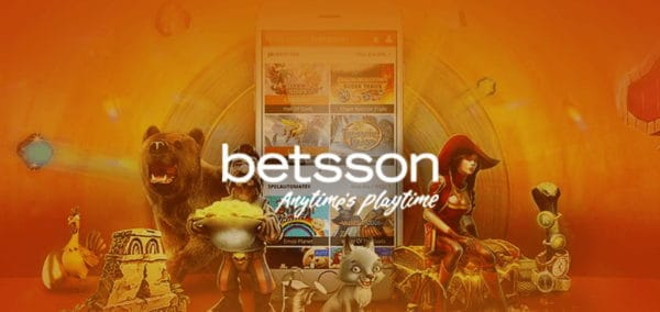Get 200 Free Spins and 100% Welcome Bonus to Betsson!