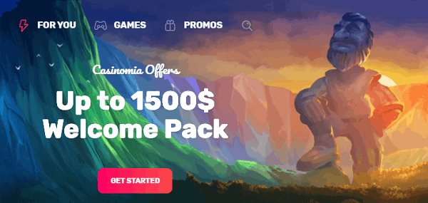 $1500 welcome bonus and 300 free spins