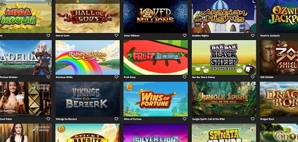 Fastbet Casino & Sportsbook games