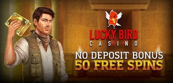 Get 50 No Deposit Free Spins
