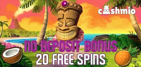 20 gratis spins on slots