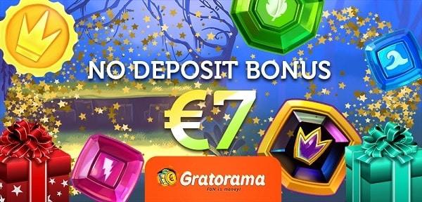 Get 7 EUR no deposit bonus !