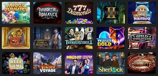 24kCasino games: slots, live dealer, video poker