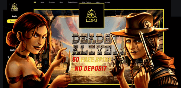 50 Free Spins on Dead or Alive