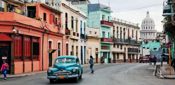 Classic cars are part of any visit to havana