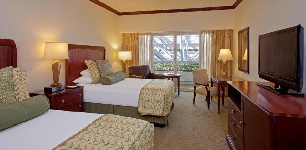 orlando airport hotel, Hyatt MCO Double Room, orlando airport hotel, day room orlando airport, post cruise orlando airport