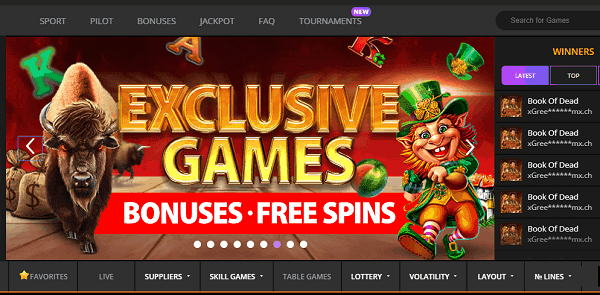 Exclusive free bonuses and casino games