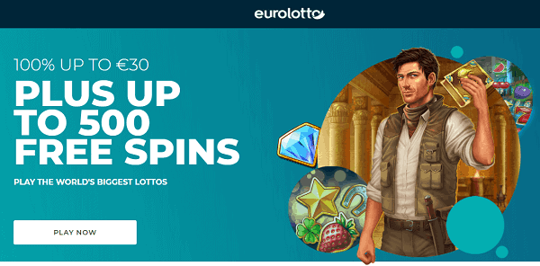 Get up to 500 free spins