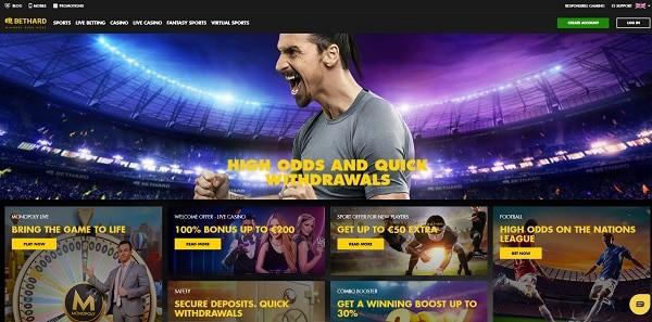 Bethard Casino high roller bonuses