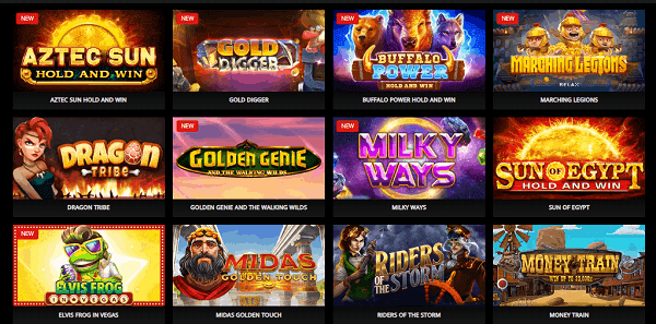 New slots, table games and live casino!