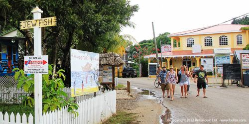You can take a ferry to the fishing village of placendia from harvest caye