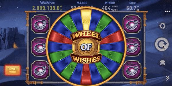 Wheel of Wishes free bonus Microgaming Casino