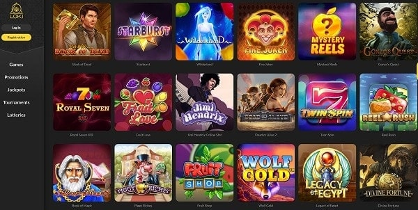Loki.com Casino Online Review