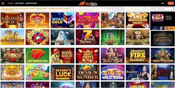 Wild Slots free spins bonus