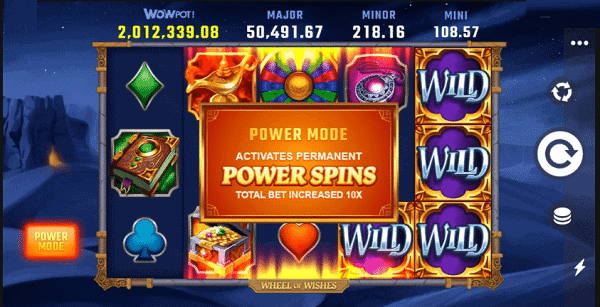 Wheel of Wishes jackpot winner