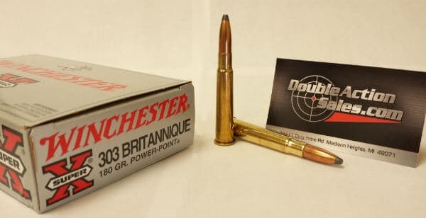 Winchester 303 British 180gr Power-Point (X303B1)