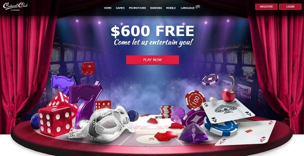 $600 bonus and 50 free spins for new players
