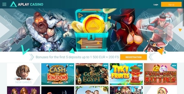 APlay Casino games and software