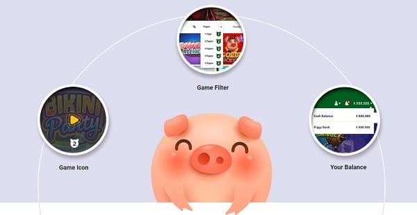 Piggy Bang Casino cashback bonus and promotions