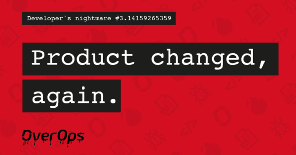 Product changed, again