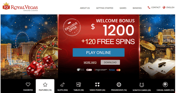 Get exclusive welcome bonus: $1200 and 120 free spins!