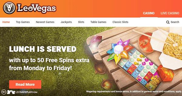 50 No Deposit Free Spins