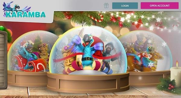 Karamba Christmas Bonus Calendar - casino bonuses & free spins