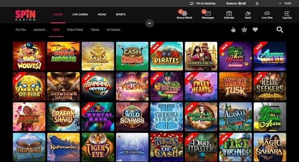 SpinPalace.com Casino Free Bonus