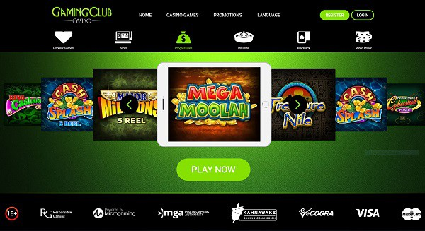 Gaming Club Casino Online & Mobile Free Play Games
