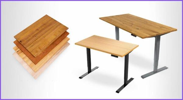 Die besten 4 höhenverstellbaren Schreibtische mit Holzplatte