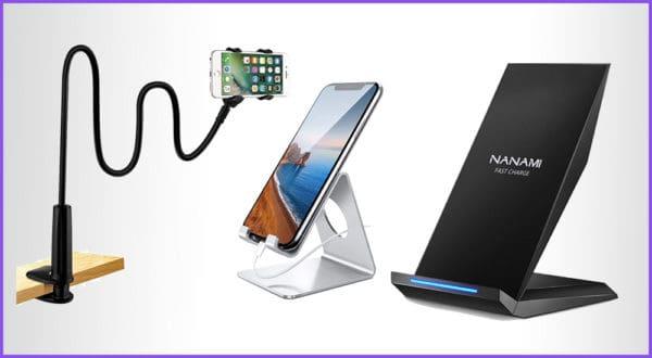 Die besten 5 Schreibtisch Handyhalterungen mit Ladefunktion