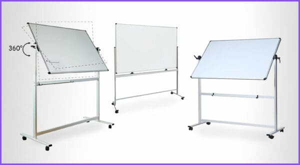 Die besten 3 Whiteboards auf Rollen fürs Büro
