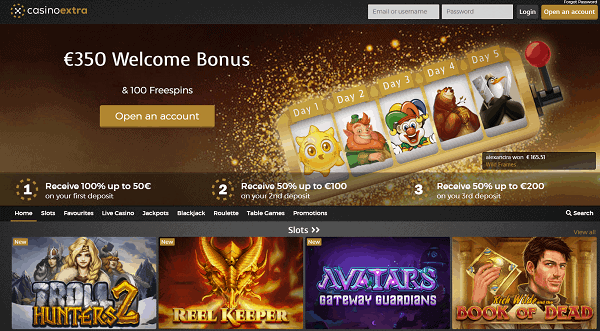 350 EUR and 100 Free Spins For New Players
