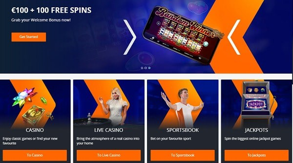 100 free spins bonus