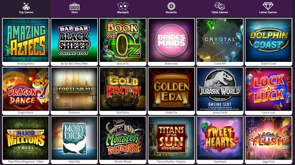 Mummys Gold Casino games and bonuses