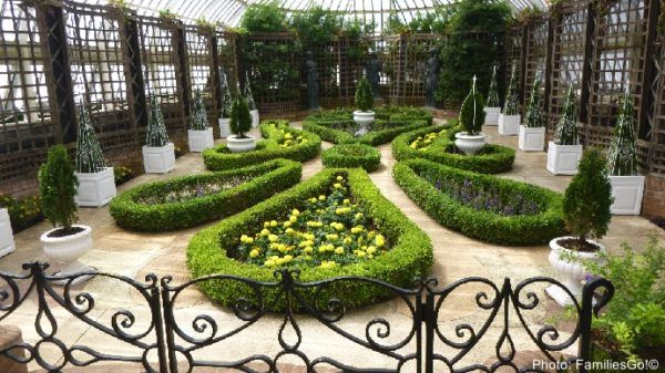 Artful flowers at the phipps conservatory in pittsburgh