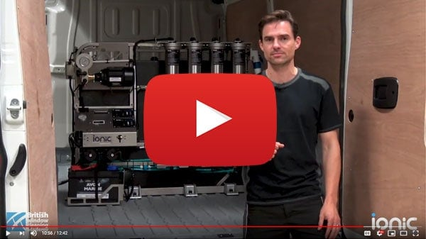 Video post about fitting a vehicle mounted system