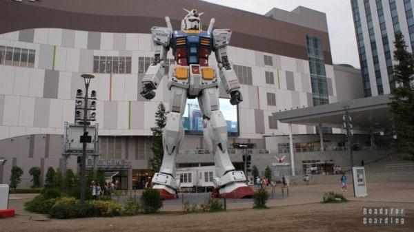 Japonia, Tokio - wyspa Odaiba, robot Gundam