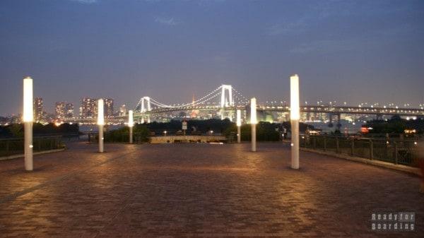 Japonia, Tokio - Odaiba, Rainbow Bridge