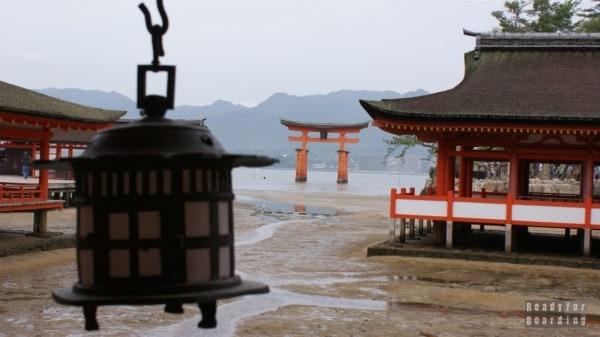 Miyajima, Itsukushima Shrine, Brama Torii Gate